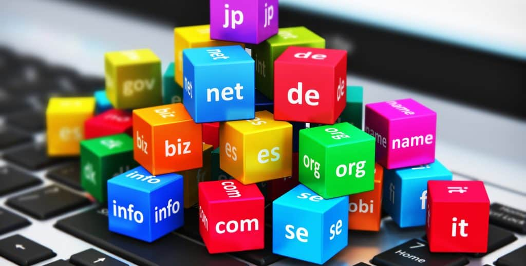 Most Common TLDS